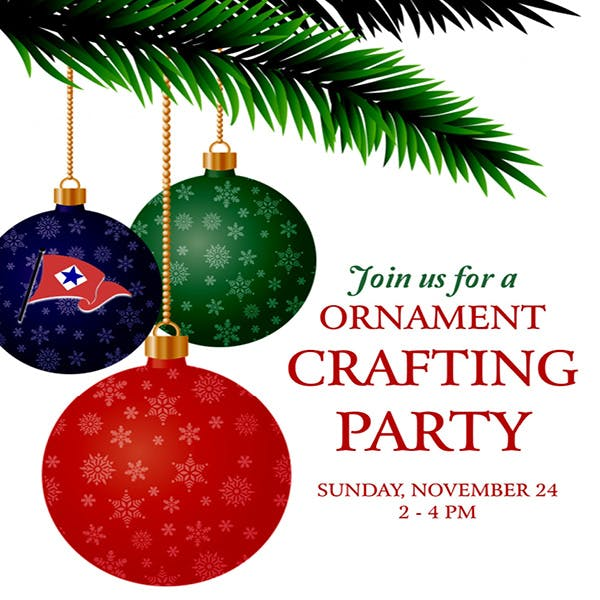 Ornament Crafting Party