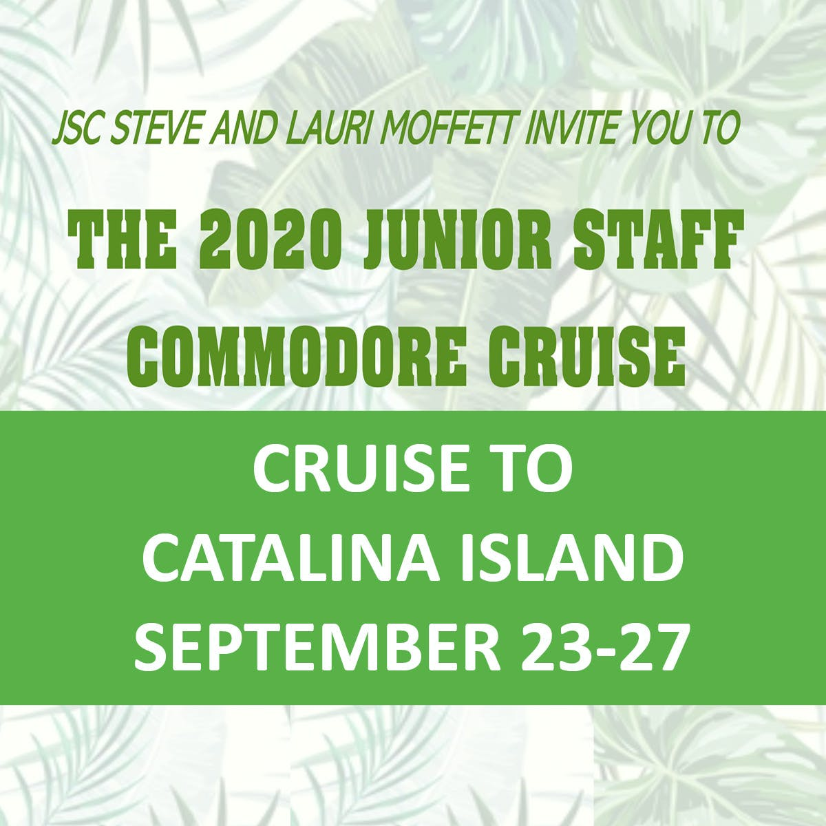 JSC Cruise to Catalina