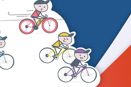 Card thumbnail Course de vélo