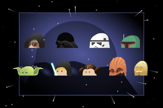 Card thumbnail Star wars