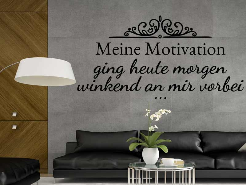 WANDTATTOO MEINE MOTIVATION
