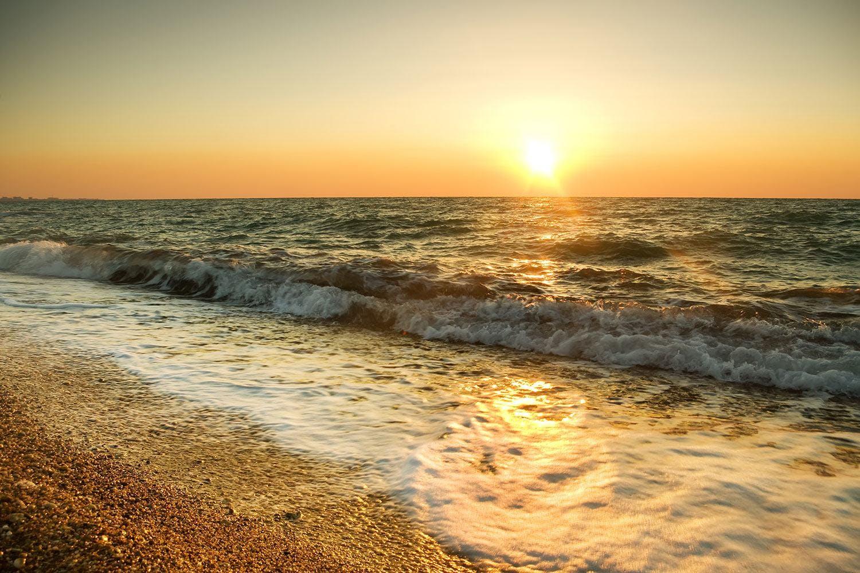 Motiv Sonnenuntergang am Meer