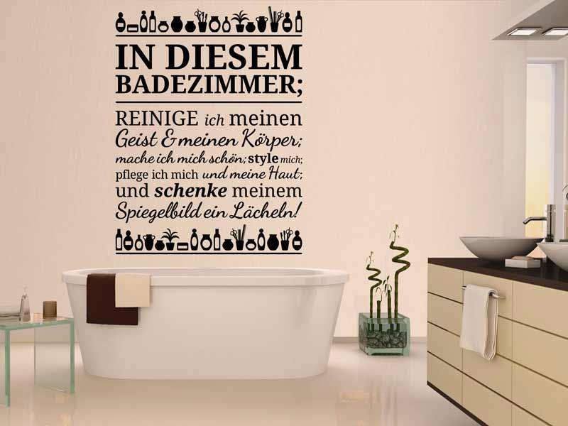 WANDTATTOO IN DIESEM BADEZIMMER...