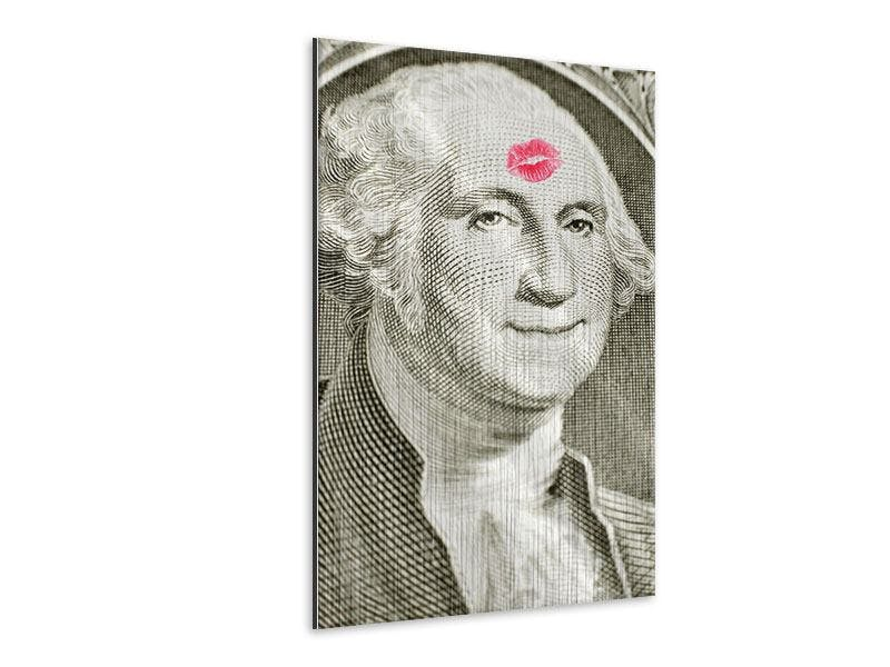 METALLIC-BILD GEORGE WASHINGTON BANKNOTE