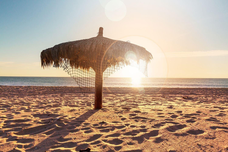 Motiv Der Sonnenschirm