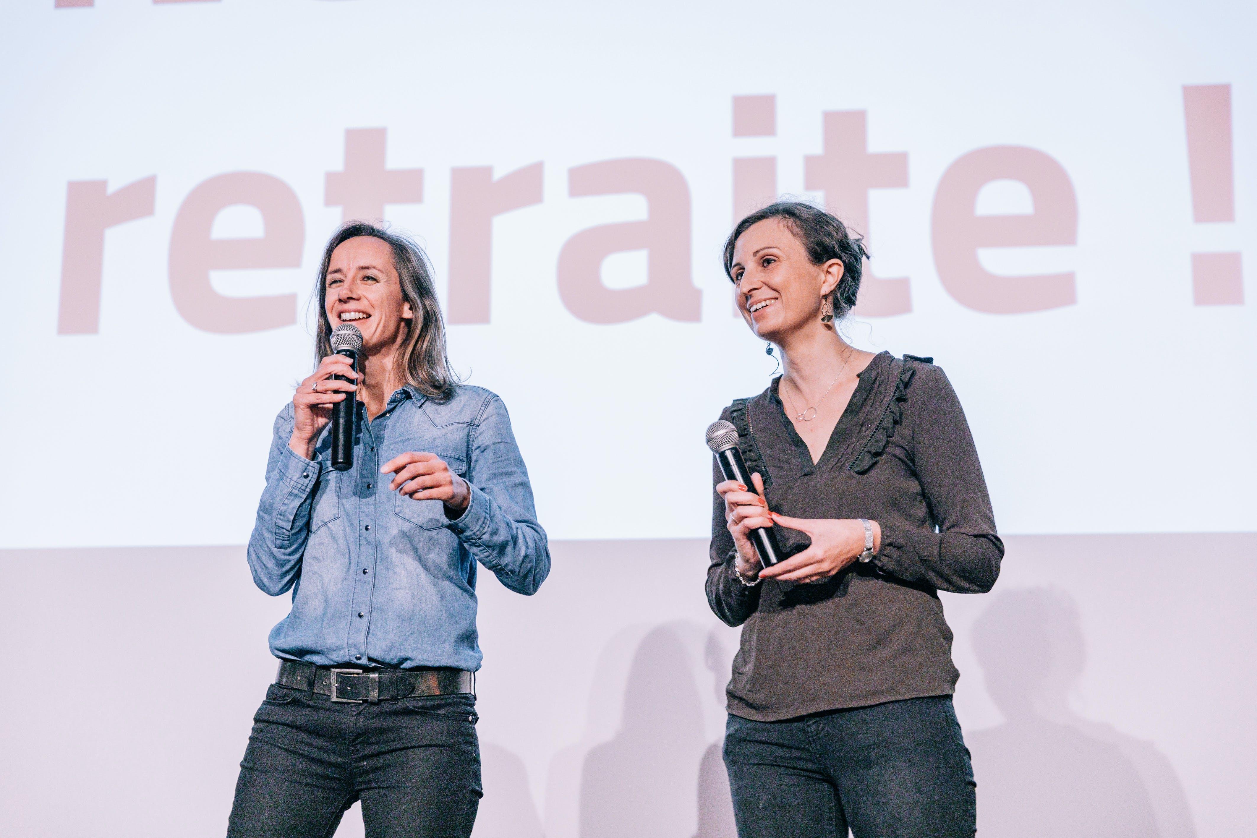 Anne-Laure Mesguen et Amélie Arcile - Partager Son Temps