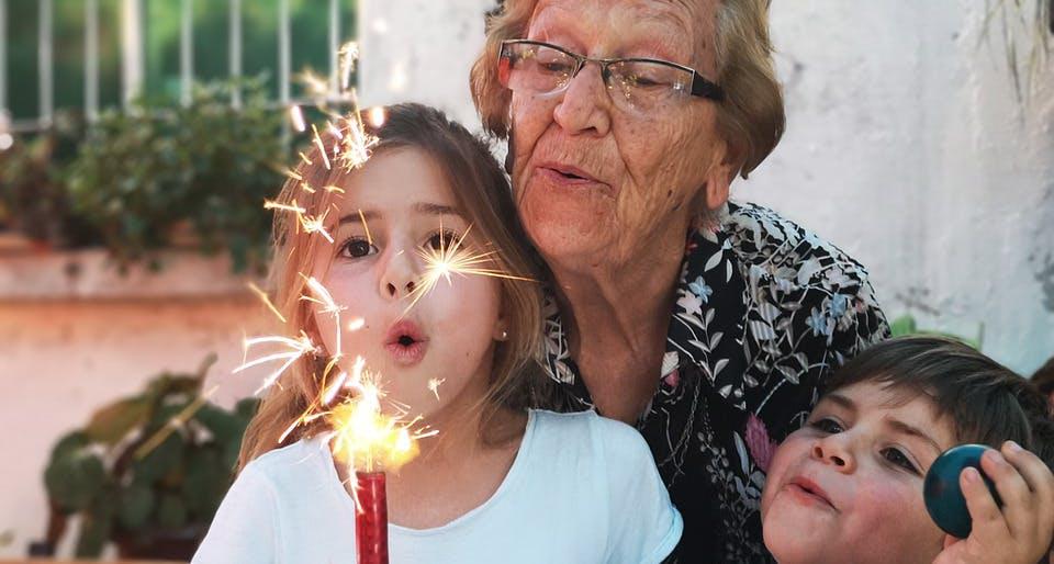 retraite benevolt grand mère