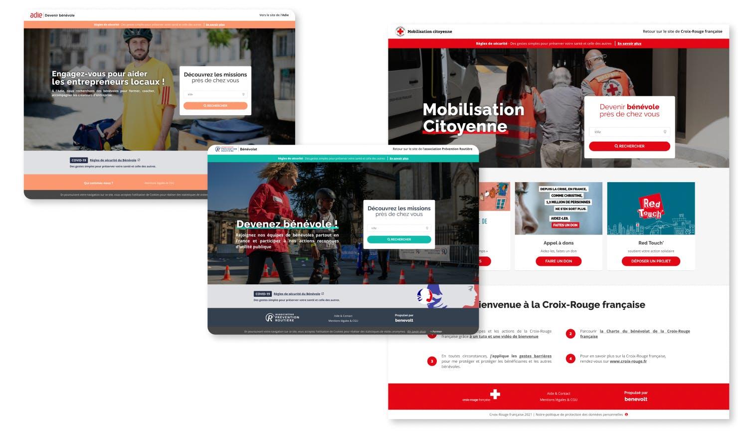 associations nationales plateforme de bénévolat