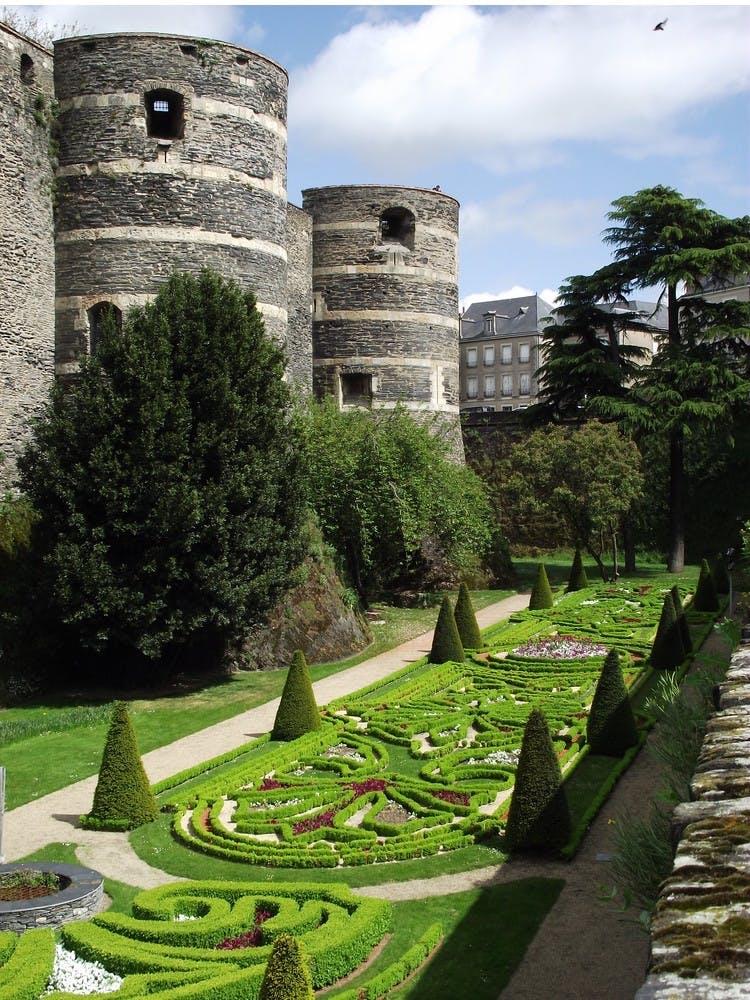 une illustration de la ville de Angers