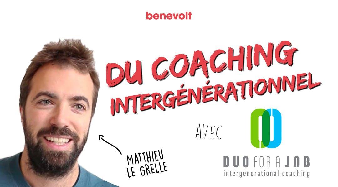 duo for a job coaching intergénérationnel