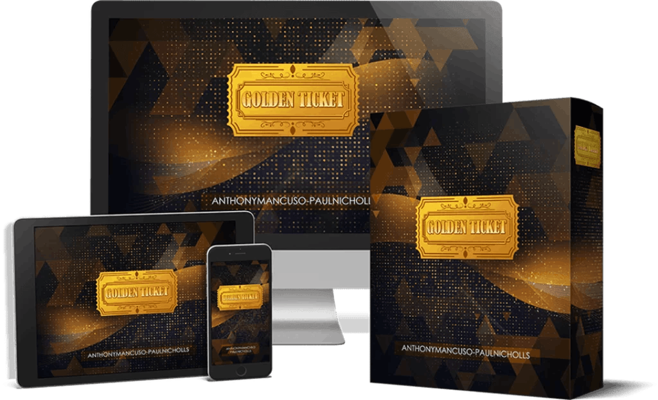 Golden Ticket is a new unique, proven method for creating consistent online passive income
