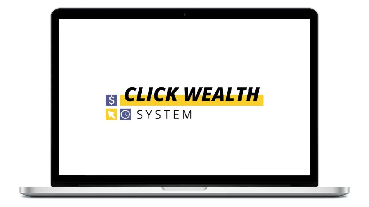 Make money online with this Click Wealth System review