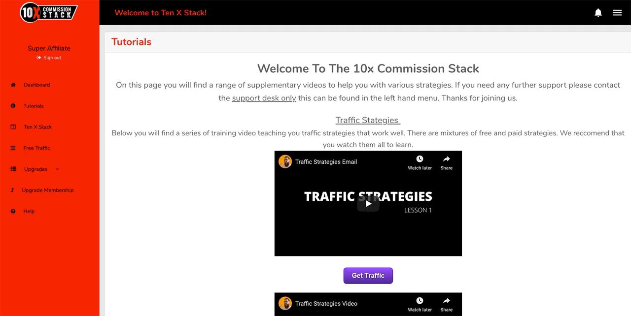 What is 10X Commission Stack?