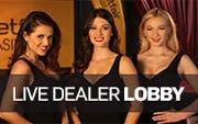 Live Dealer Lobby