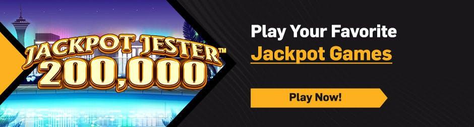 Jackpots Hero Banner - Jackpot Jester 200k