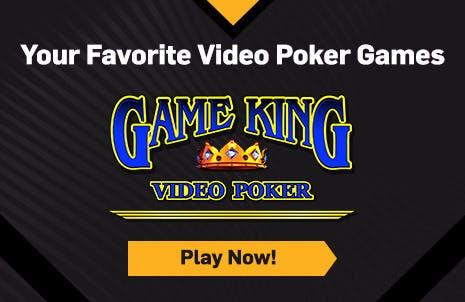 Video Poker Hero Banner (Right) - Game King