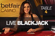 American Blackjack Table 4