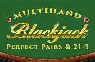 Multi Hand Blackjack Perfect Pairs + 21+3