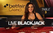 American Blackjack Table 3
