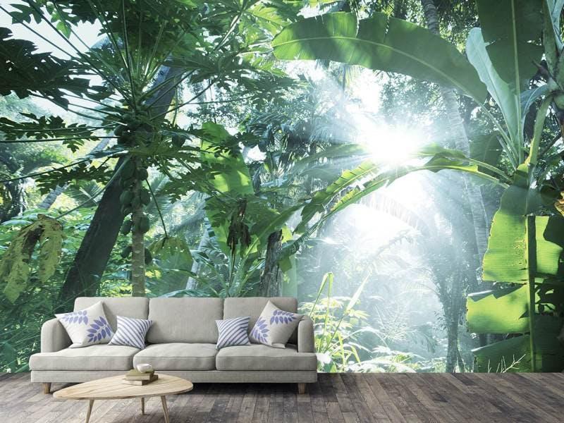 Fototapete Dschungelstar