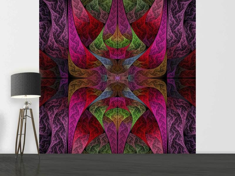 Fototapete Fraktales Muster