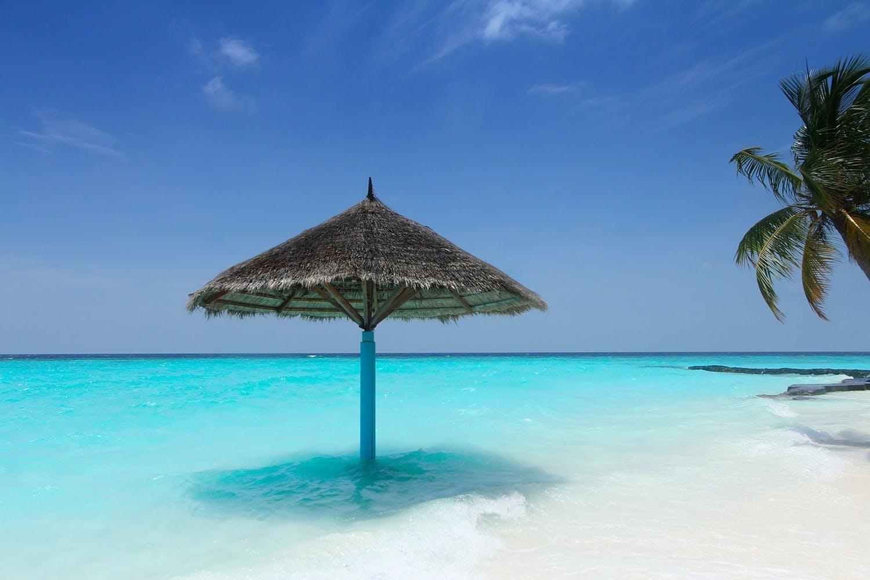Fototapete Traum Malediven
