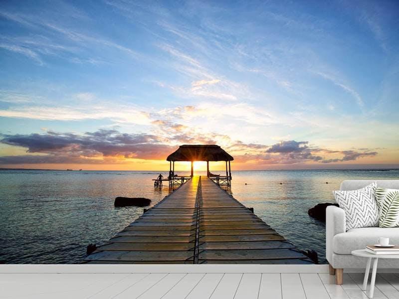 Fototapete Romantik auf Mauritius