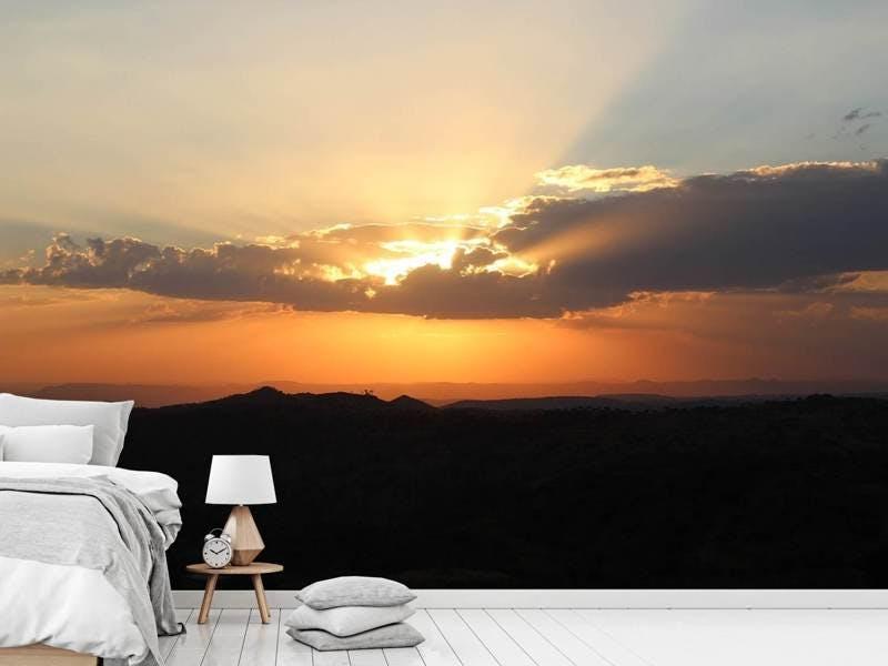 Fototapete Der Horizont von Afrika