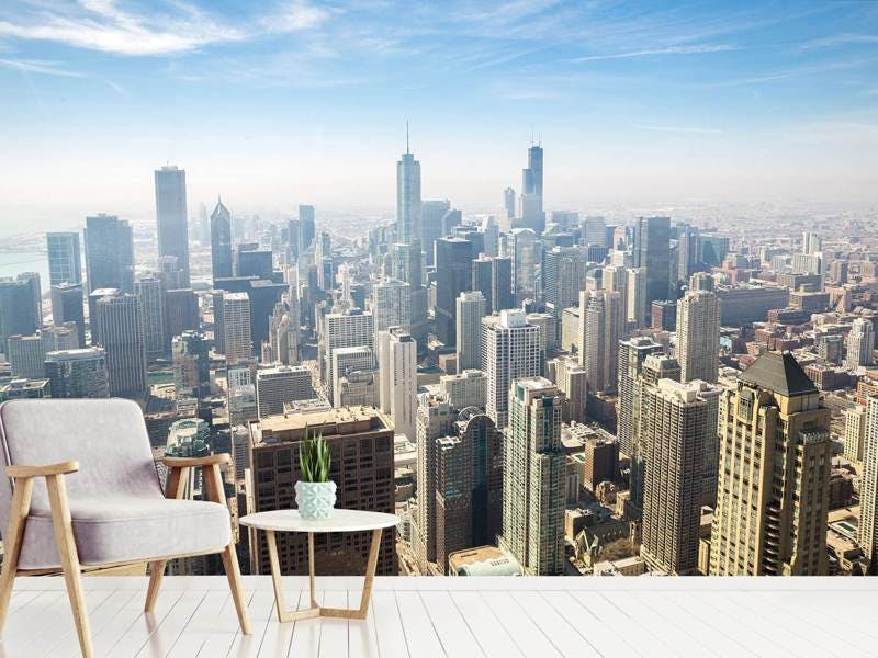 Fototapete Wolkenkratzer Chicago