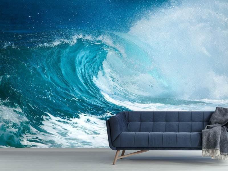 Fototapete Die perfekte Welle