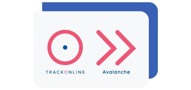 Met TrackOnline CONNECT is het mogelijk een verbinding te maken tussen Avalanche en TrackOnline