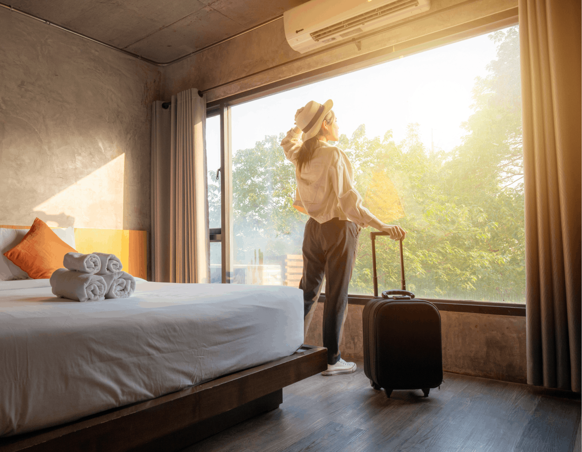 female traveller