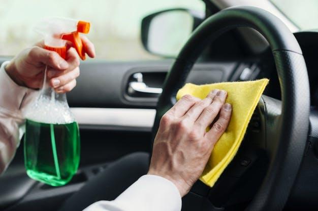 desinfectar carro