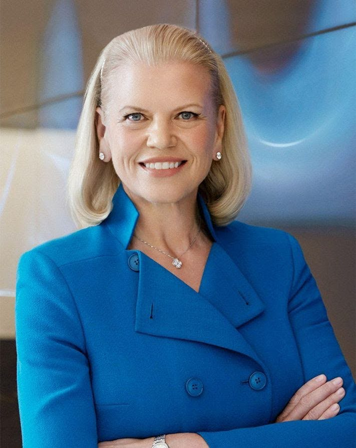 Ginni Rometty, Chair, President, and CEO of IBM