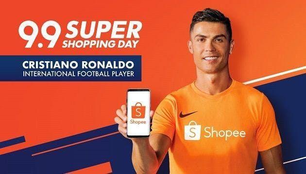 Cristiano ronaldo x shopee ads
