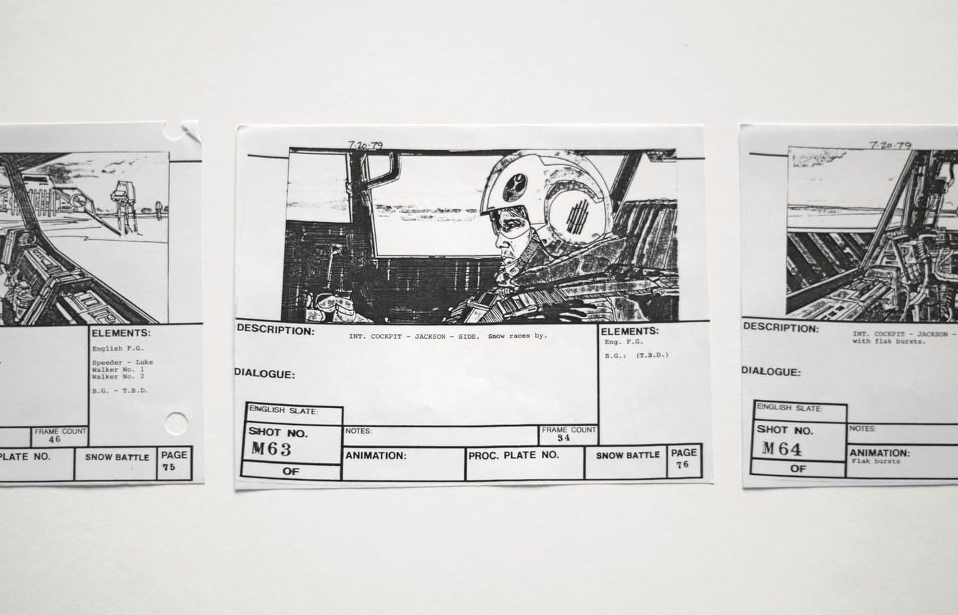 Storyboard Example (Source: Matt Popovich)