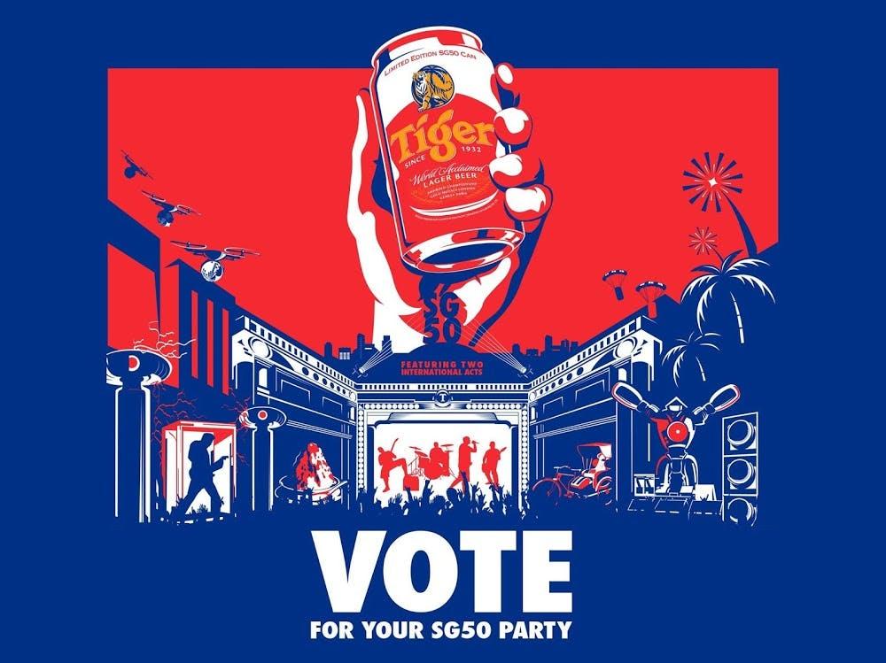 Tiger beer's SG50 campaign