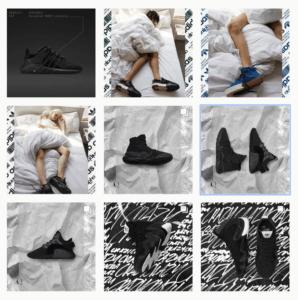 Monochromatic b&w instagram feed