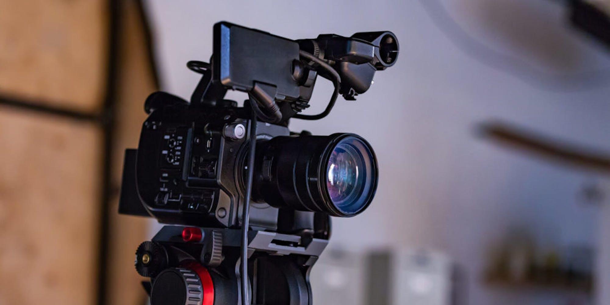 A photo of a camera