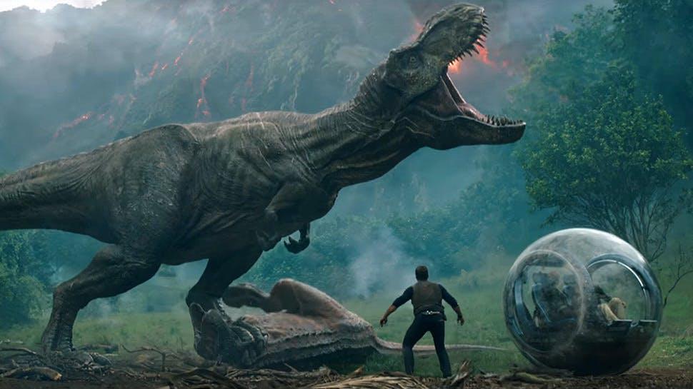 Screenshot from Jurassic Park