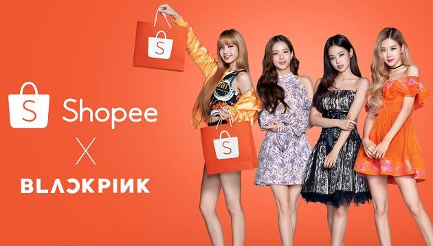 Shopee x blackpink ad