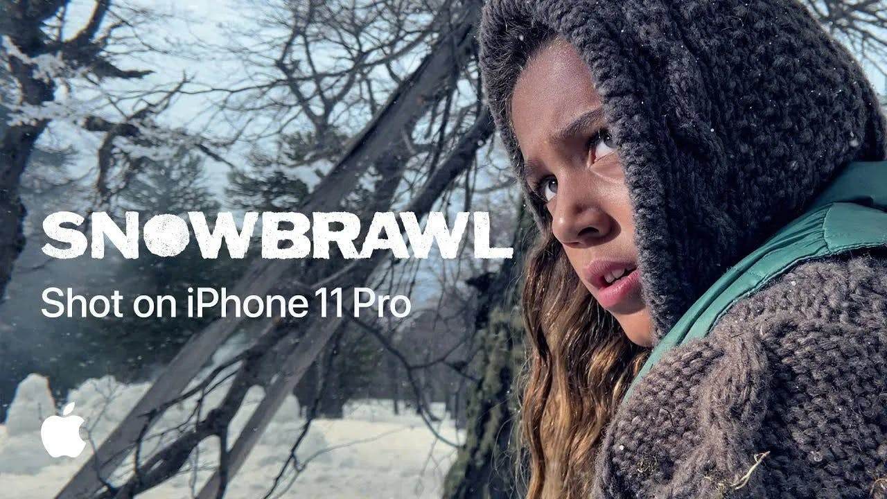 Snowbrawl shot on iphone 11 pro
