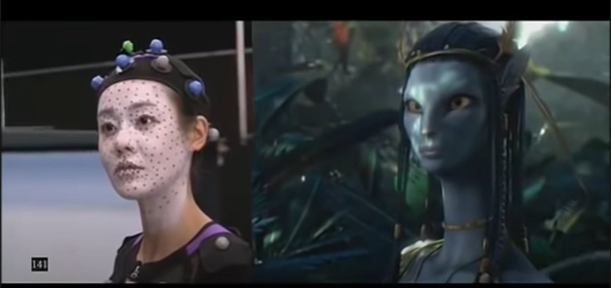 Avatar Before and after