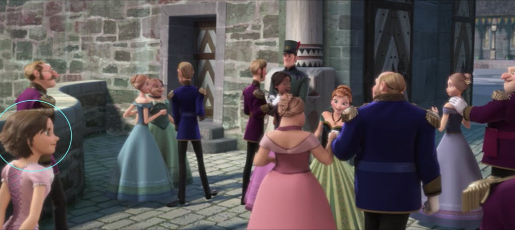 Screenshot of Frozen