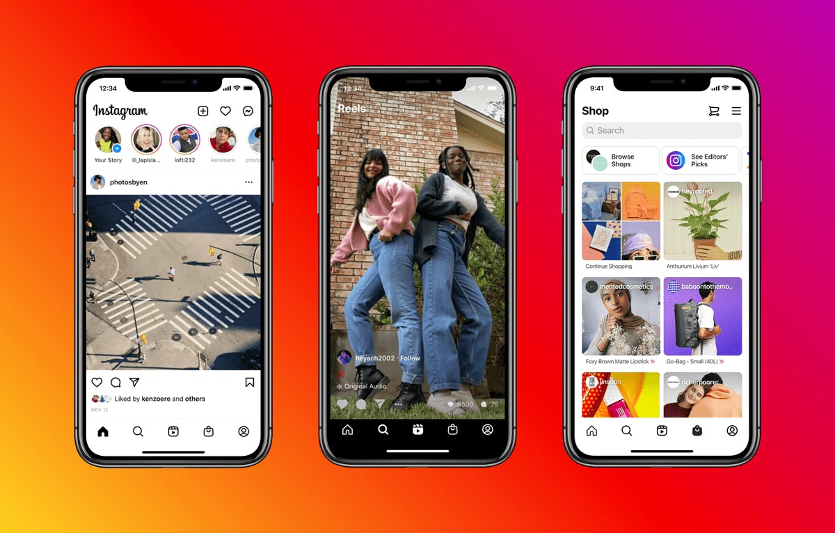 Instagram's November Update: Reels, Shop Tabs & More