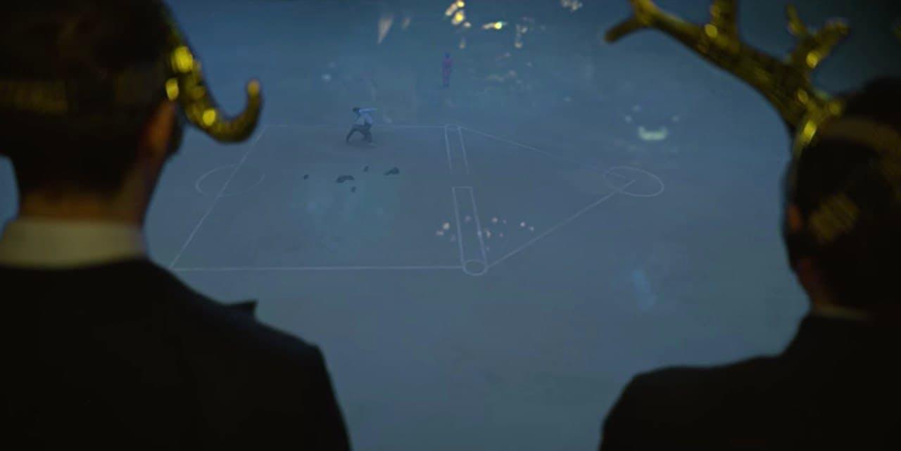the squid game, VIP scene