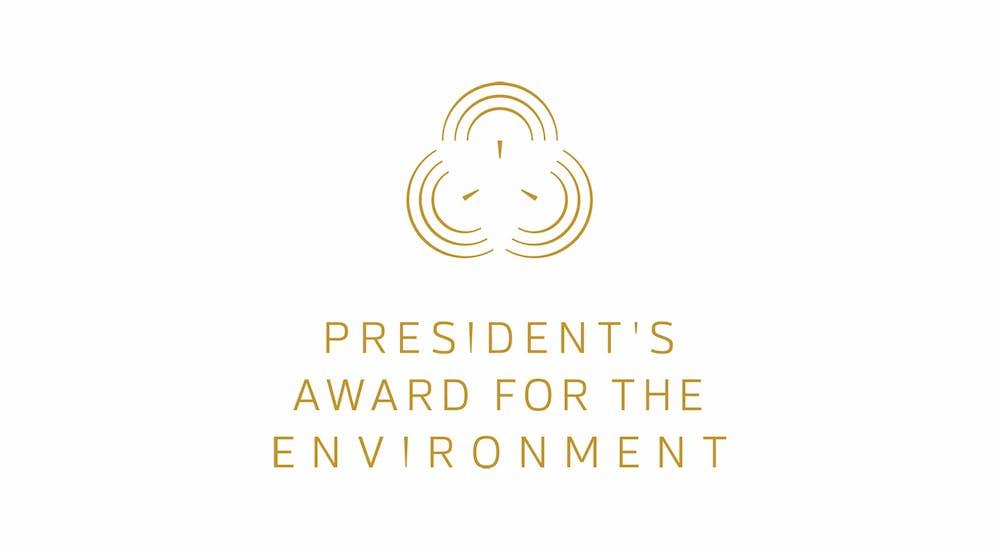 MEWR - President's Award for the Environment 2019