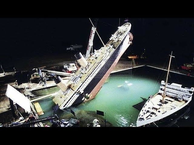 Minature model of the titanic prop