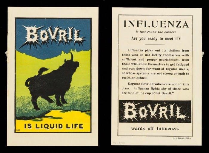 Bovril marketing materials