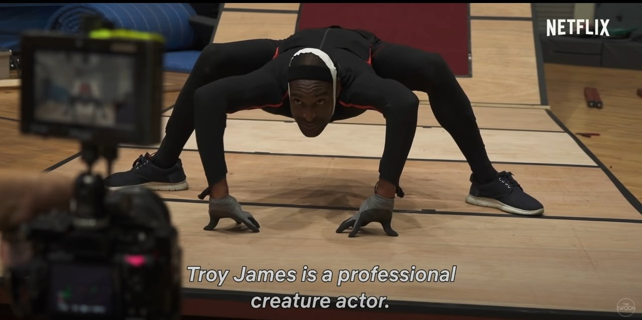 Troy james movements were used as references